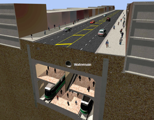 Station Complete – Restore roadway, utilities and traffic