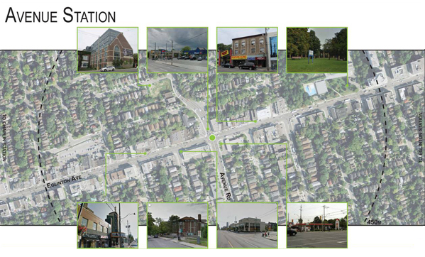 Avenue Station: Local Context - Land Use