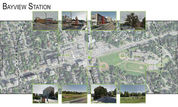 Bayview Station: Local Context - Land Use