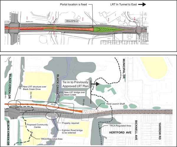 Proposal for the Black Creek Drive to West Launch Shaft