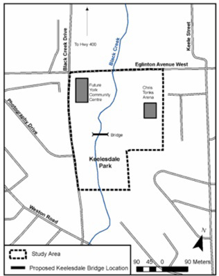 Keelesdale park map
