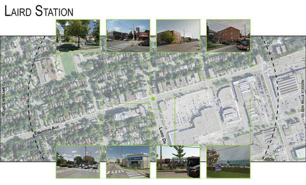 Laird Station: Local Context - Land Use