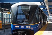 Canada Line light rail transit in Vancouver