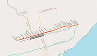 Eglinton Crosstown stations and stops