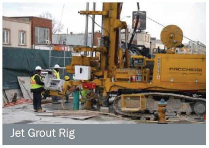 jet grout rig