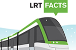 Illustration of LRT vehicle
