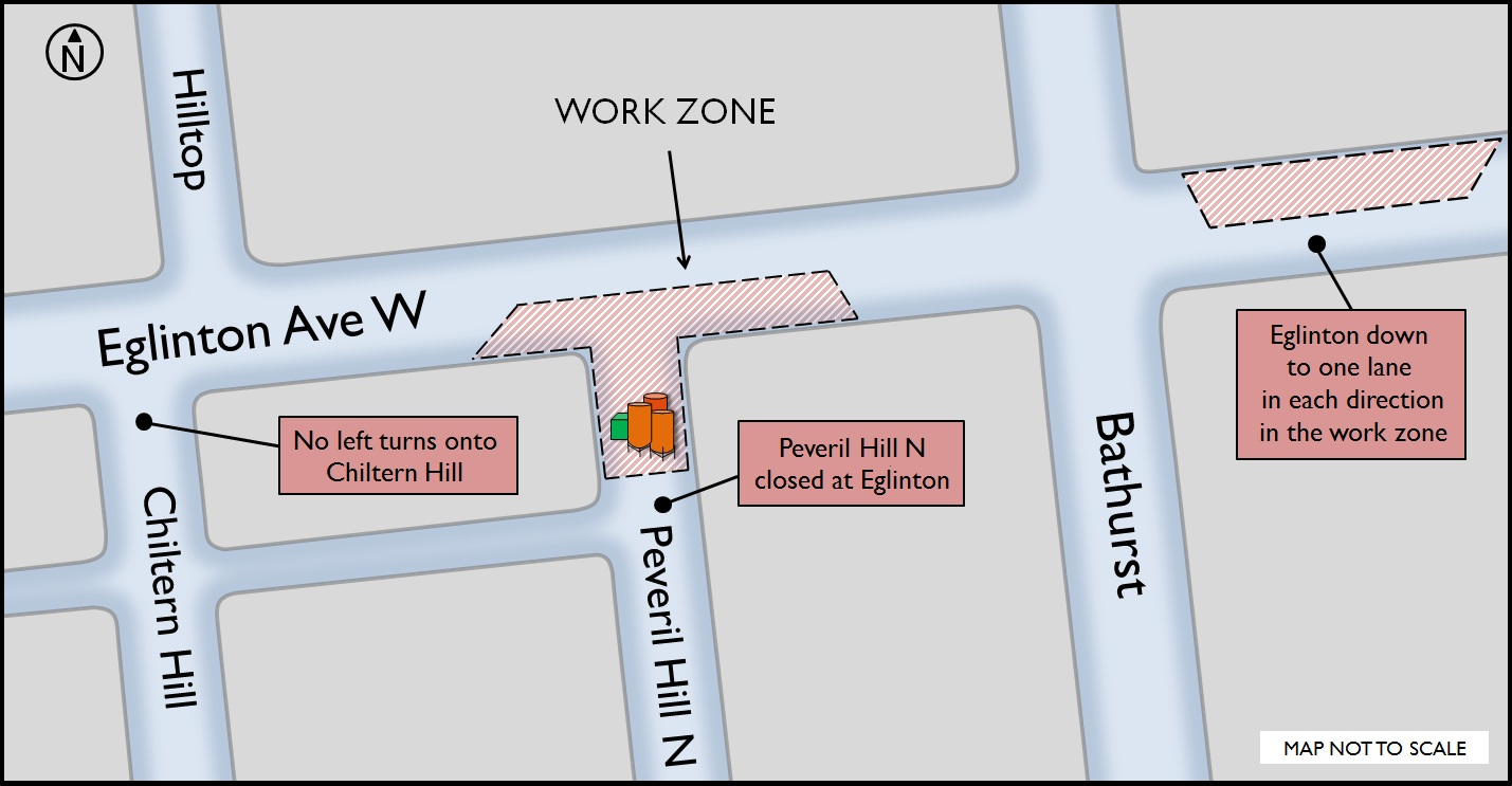 Map Bathurst workzone Feb 2015
