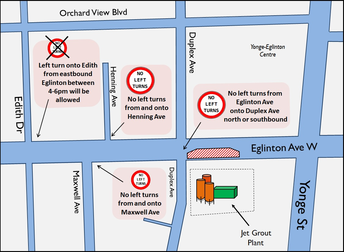 Map Edith and Eglinton