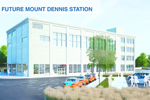 Mount Dennis station rendering